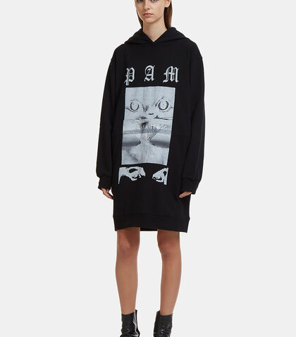 Eyes On The Prize Hooded Dress