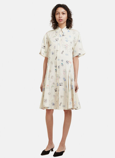 Acne Studios Maryld Shirt Dress