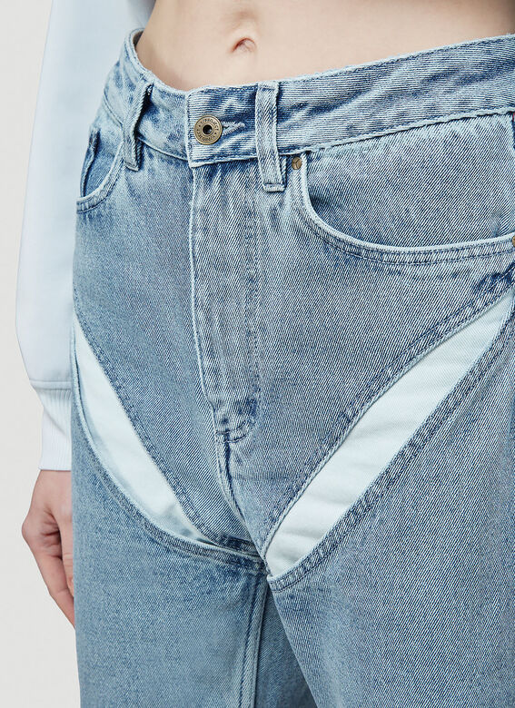 Y/Project CLASSIC V CUT-OUT JEAN 5