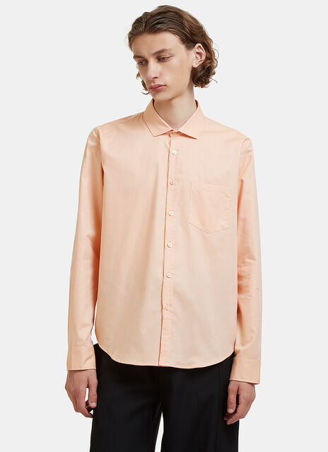 Martine Rose Embroidered Logo Classic Shirt