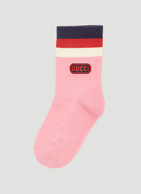 Gucci Logo Game Patch Socks