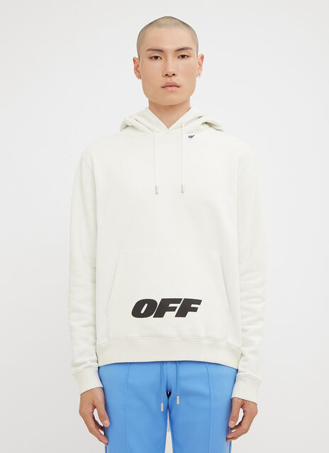 Off-White Hooded Big Logo Sweatshirt