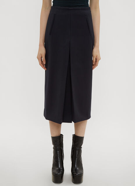 Atlein Front Slit Tailored Skirt