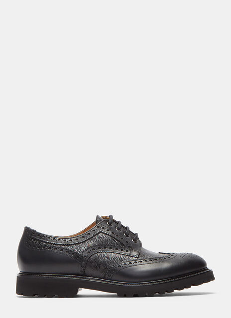 Aiezen Vibram Soled Derby Shoes