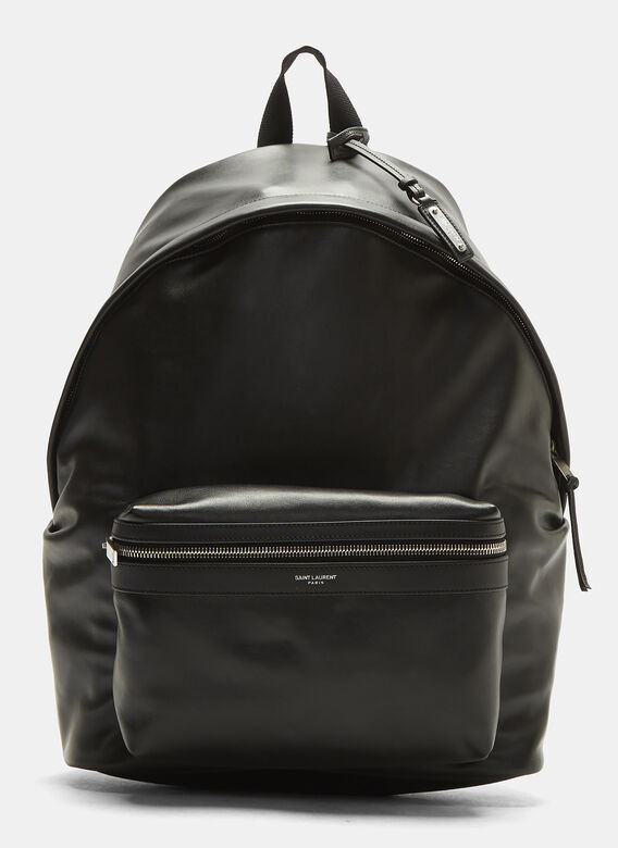 leather-backpack-in-black by saint-laurent