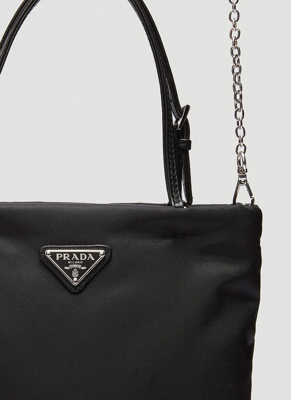 Prada NYLON TOTE WITH STRAP 6