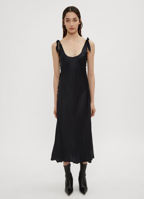 Acne Studios Bias Cut Slip Dress