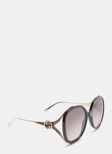 Round Frame Injected Sunglasses