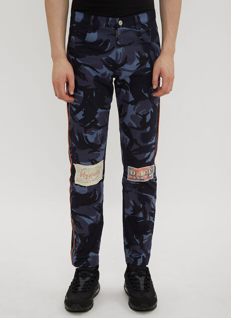 Martine Rose Camo Patch Trousers