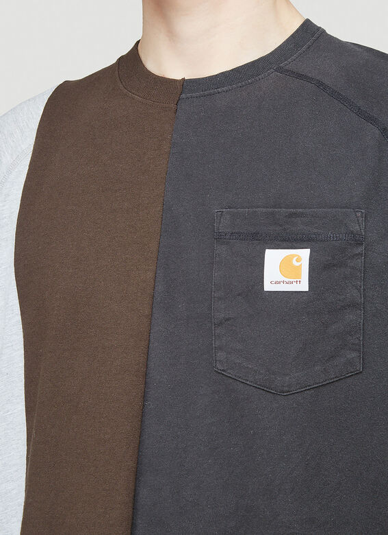 (Di)vision Reworked Carhartt Triple Split T-Shirt 5