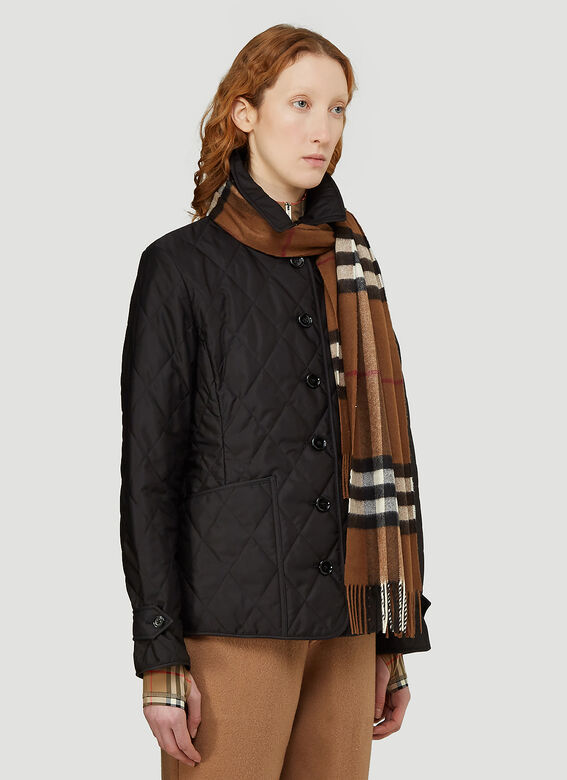 Burberry Check Scarf 2