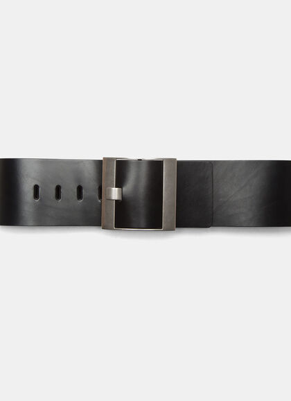 Buy Wide Buckled Waist Belt online