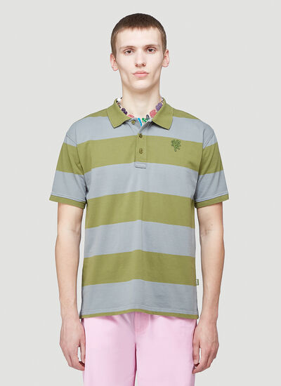 Heaven by Marc Jacobs Tiny Teddy Striped Polo Shirt