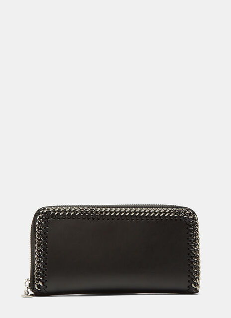 Stella McCartney Zip-Around Falabella Wallet