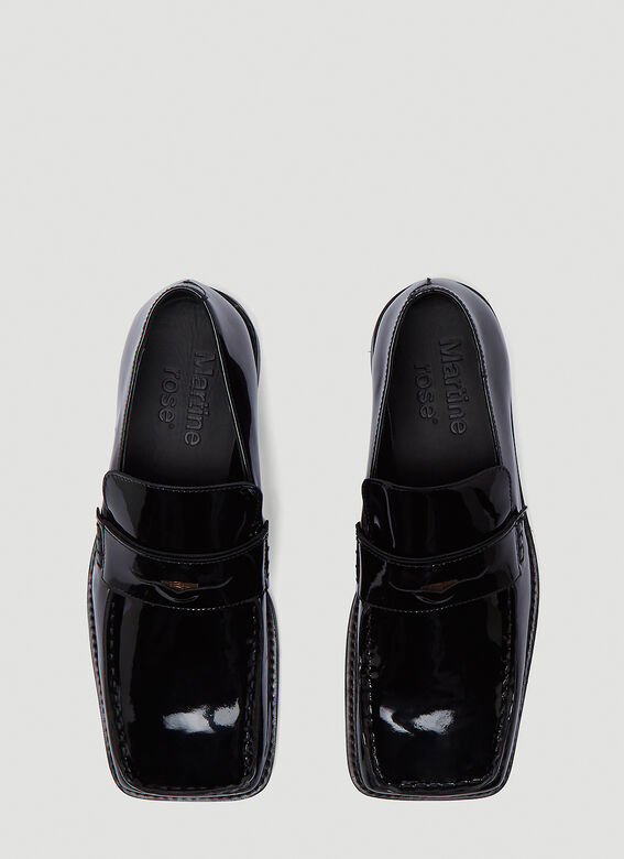 Martine Rose Roxy Patent Loafers 2