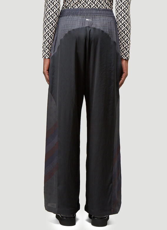 Marine Serre SILK SCARVES RELAXED PANTS -REGENERATED- 4
