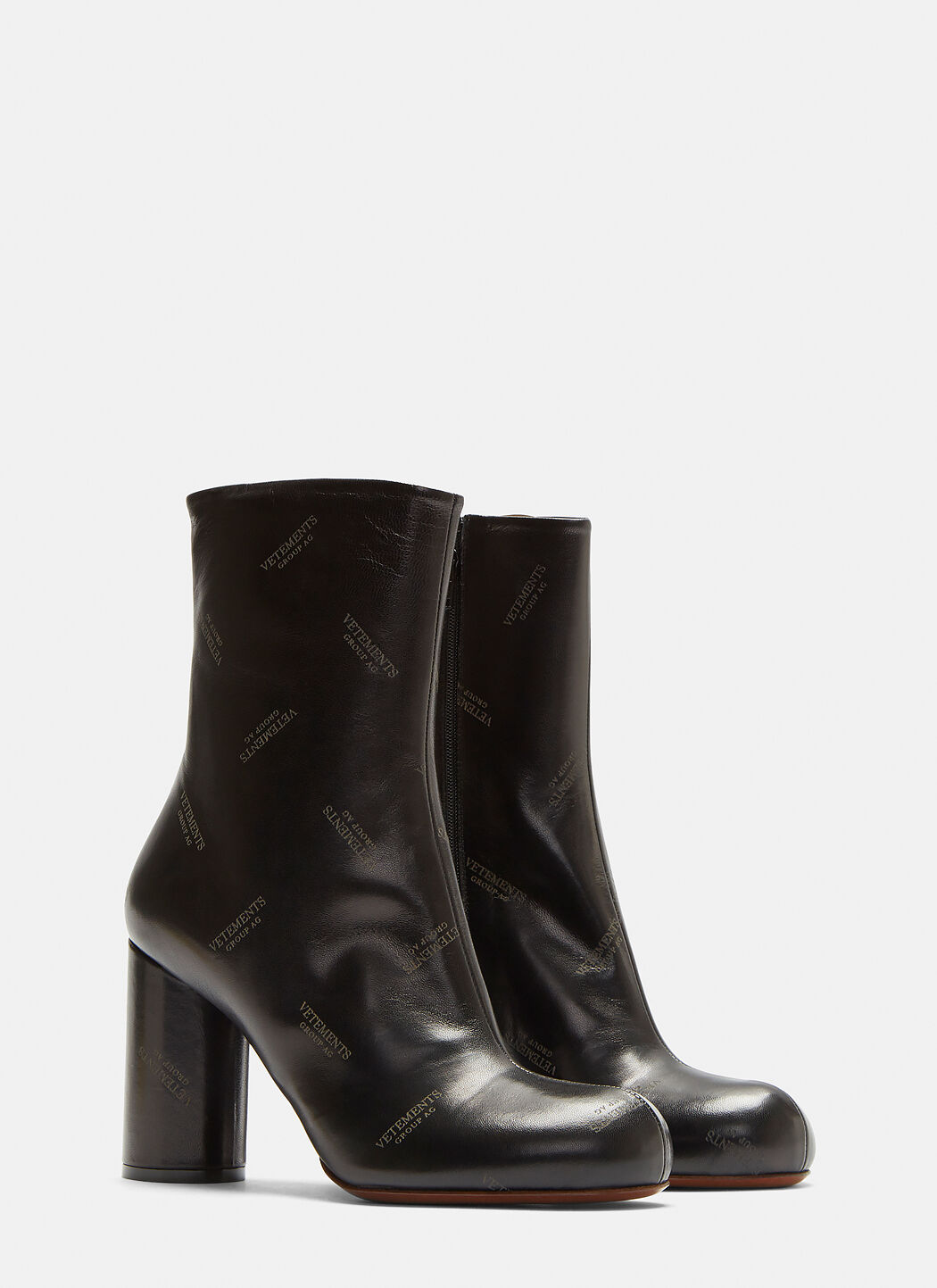 Vetements Patent Leather Ankle Boots Gr. EU 39 i9eLfb