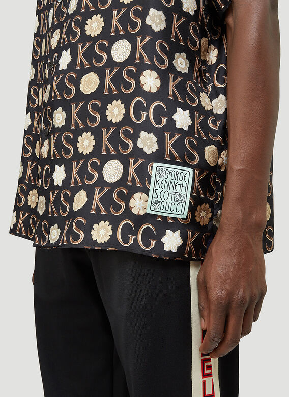 Gucci BOWLING HAWAII SHIRT 5