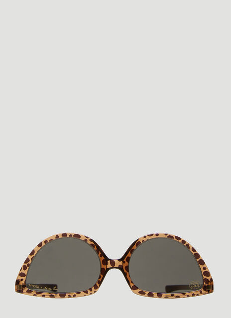 Mykita X Martine Rose Cat Eye Sunglasses