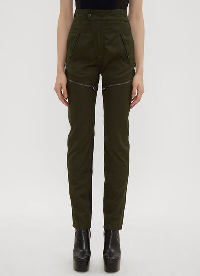 Atlein Zipped Panel Combat Pants