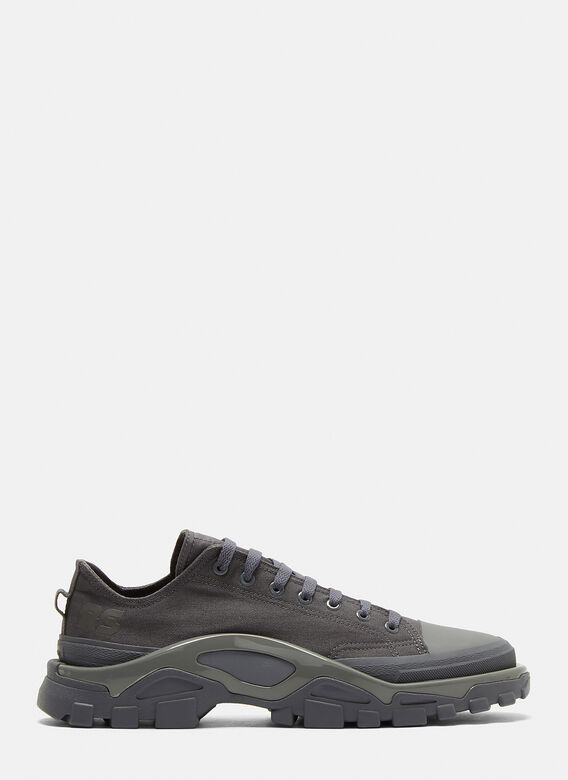 online store 193ea 2349a Adidas By Raf Simons. X Adidas Detroit Runner Sneakers in Grey