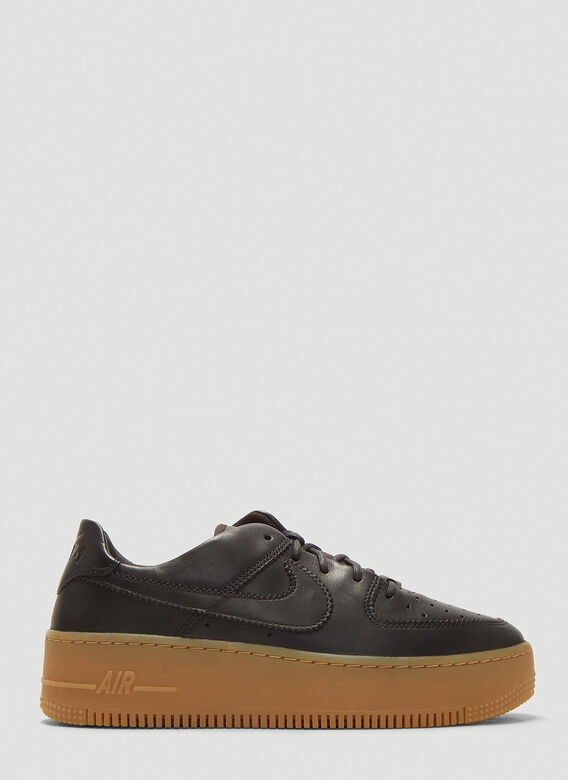 Nike Air Force 1 Sage Low Lx Sneakers In Black Ln Cc
