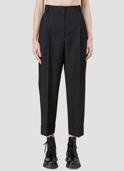 Alexander McQueen Turn-Up Pants