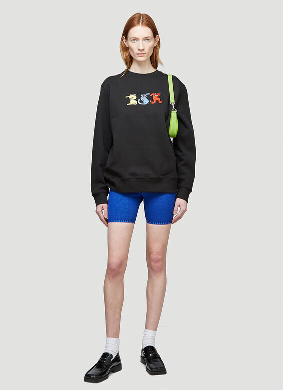 Butter Sessions RITTLE KING EMBROIDERED CREWNECK 2