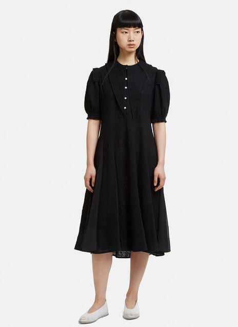 Renli Su Pointed Collar Shirt Dress