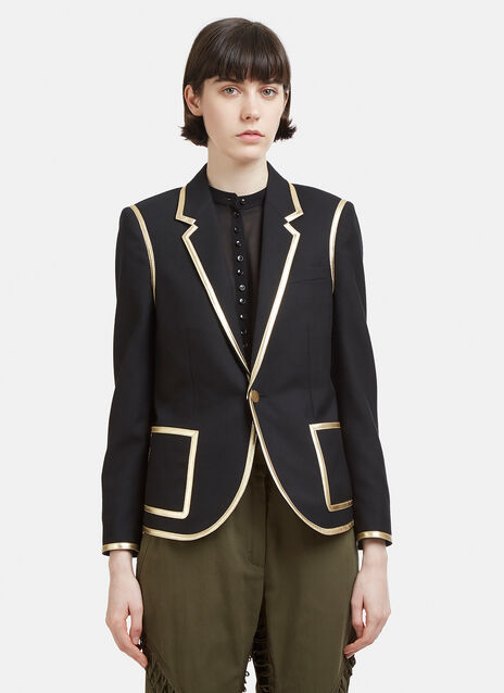 Saint Laurent Gold Edge Jacket