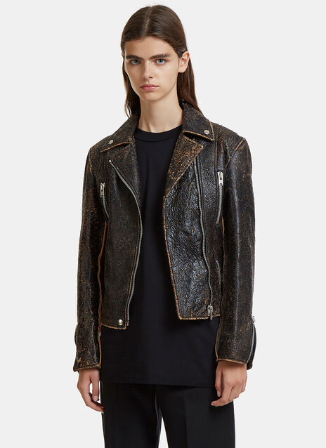 Yang Li Perfecto Abused Biker Jacket