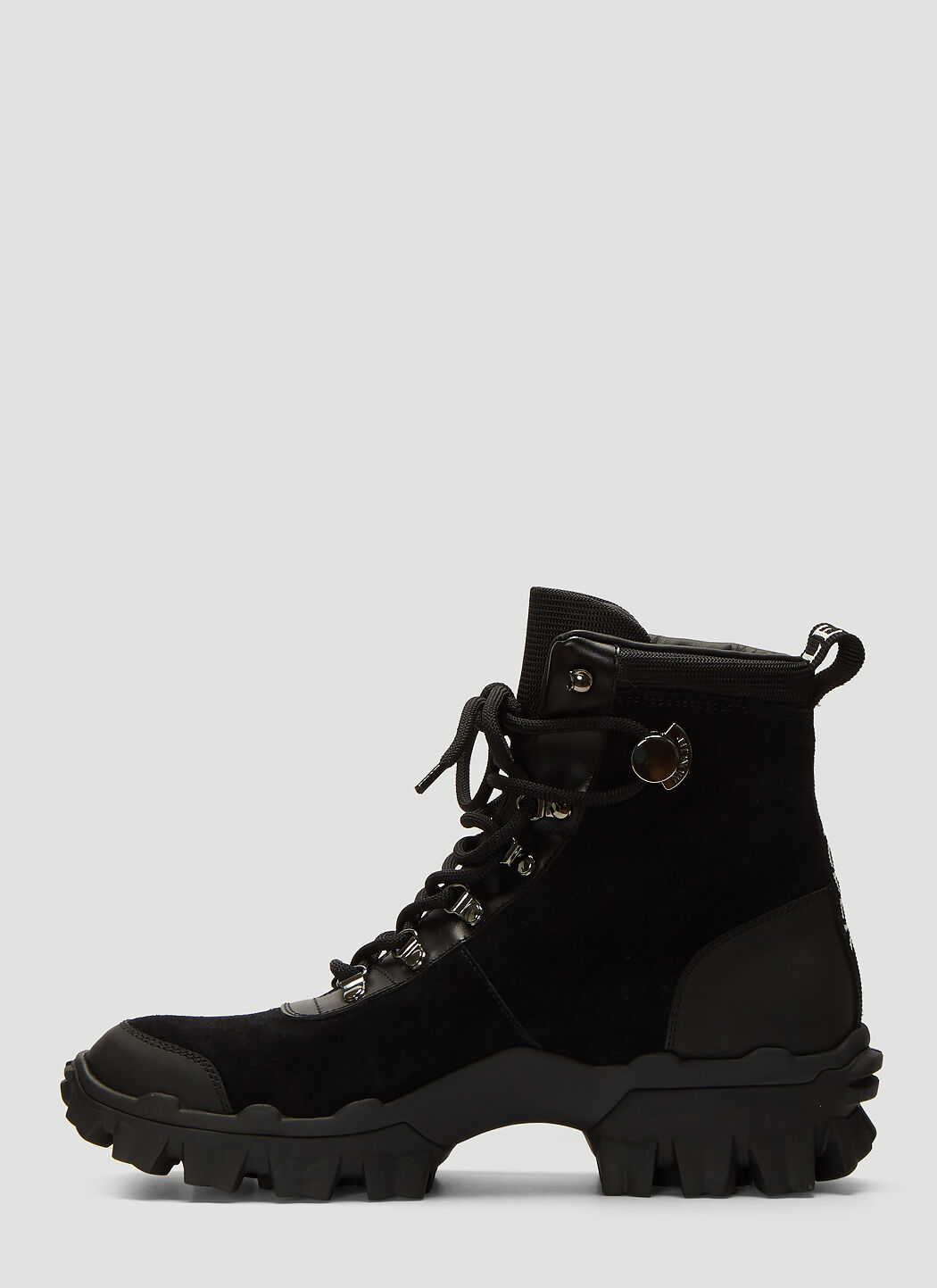 Helis Suede Boots in Black | LN CC