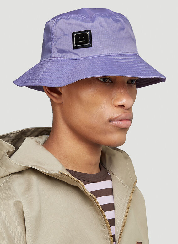 Acne Studios Logo Bucket Hat 2