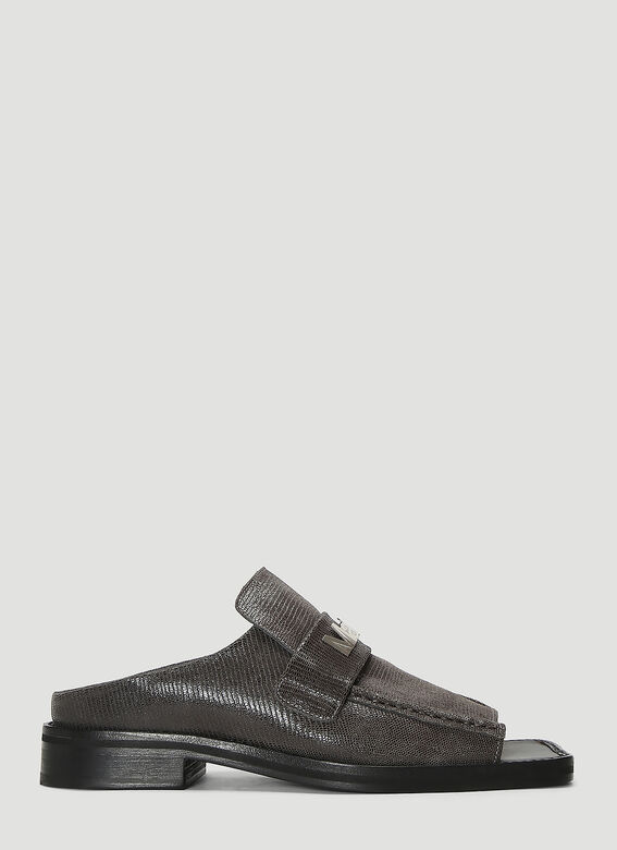 Martine Rose Loafers Open Toe Loafer Mules