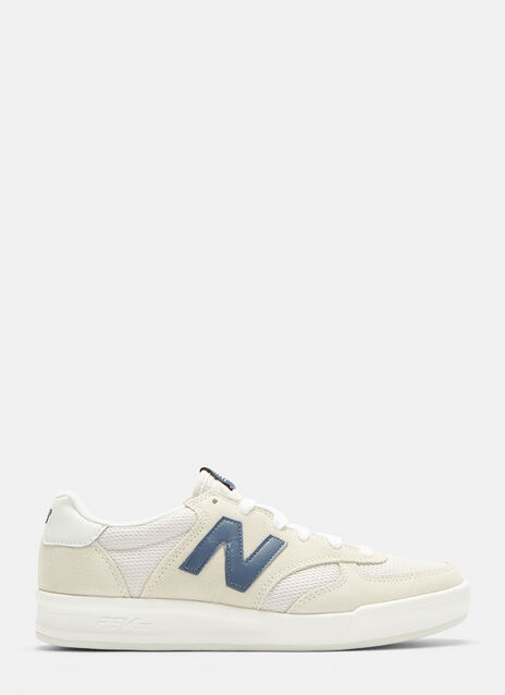 New Balance 300 Suede and Nylon Court Sneakers