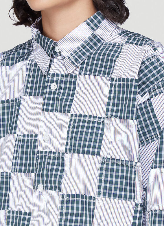 Martine Rose Late Night – Conscious Campaign 01 Patchwork Shirt 5