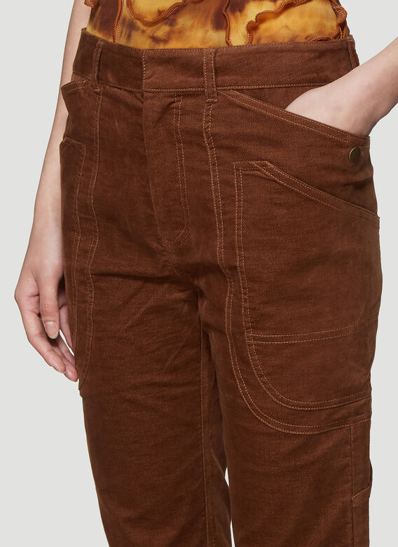 ASAI BRANCH FITTED COTTON WORK PANT 5