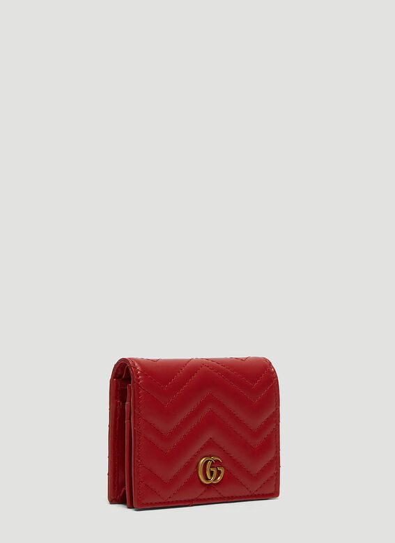 f9a501c1243 Gucci GG Marmont Wallet in Red