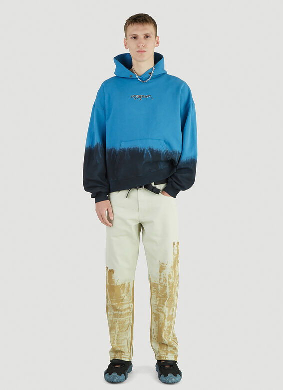 Ottolinger Otto Hoodie Blue Dip 2