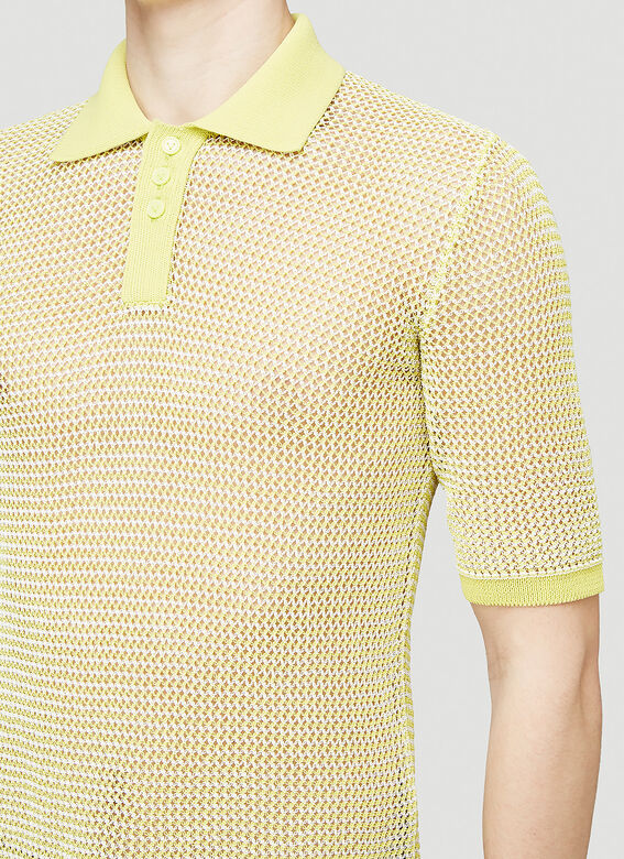 Bottega Veneta SHIRT OPEN FISHNET 5