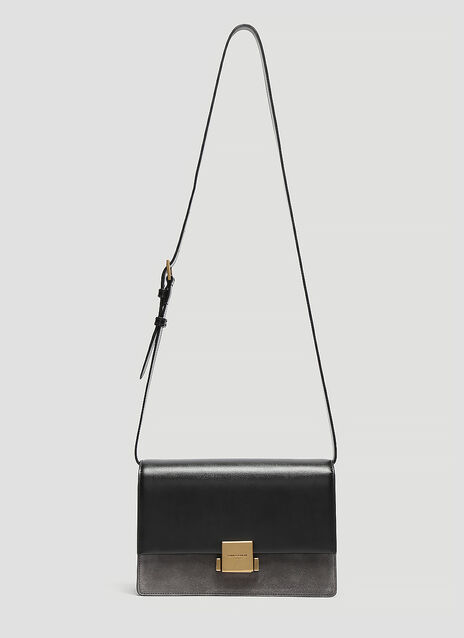Saint Laurent Bellechasse Bi-Material Shoulder Bag