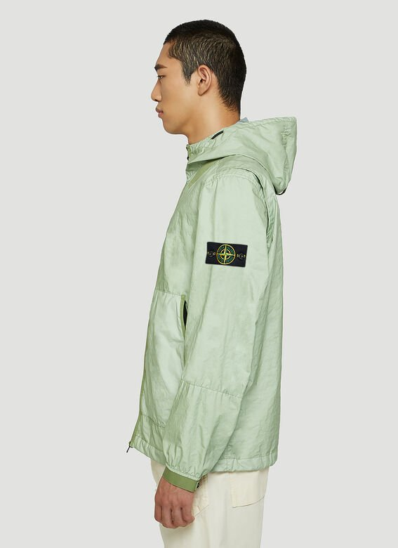 Stone Island Crinkle Hooded Jacket 3