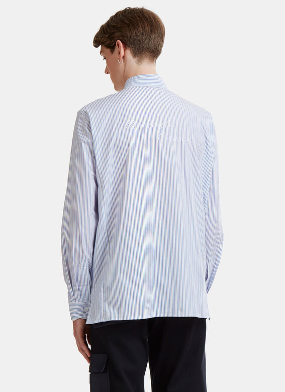 GmbH Randomly Chosen Pinstripe Shirt