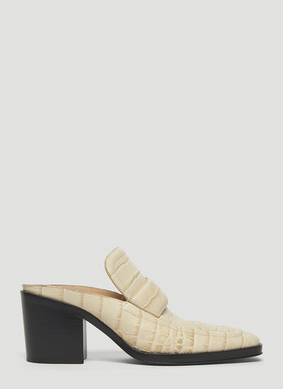 Bottega Veneta Leather Heeled Mules