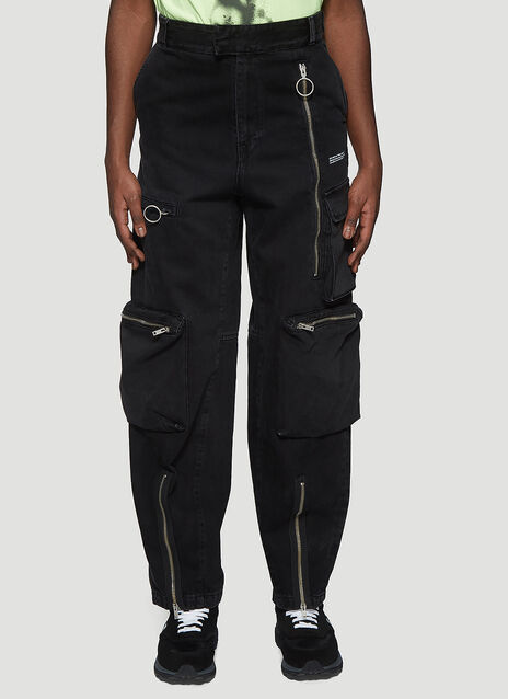 Off-White Multi Pocket Jeans