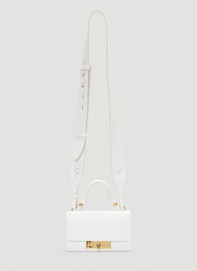Alexander McQueen Skull Lock Small Shoulder Bag
