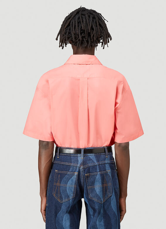 Martine Rose DUEL S/S SHIRT 100%CO 4