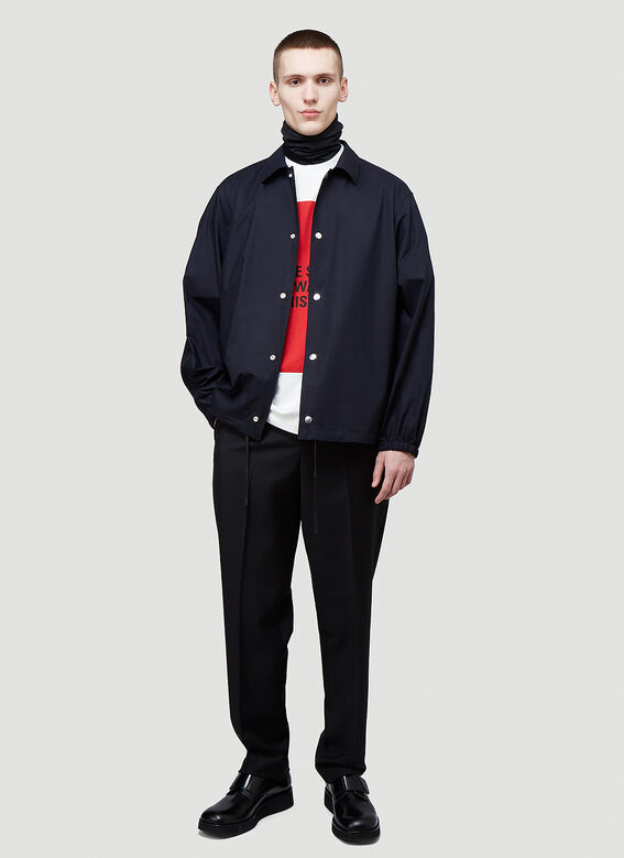 Jil Sander ESSENTIAL OUTDOOR 03 PNT - TECHNICAL POPLIN WATER REPELLENT 2