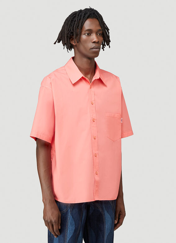 Martine Rose DUEL S/S SHIRT 100%CO 6