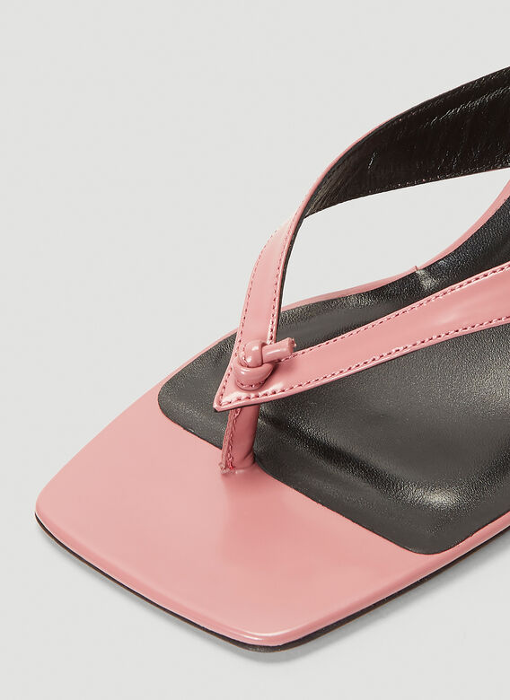 BY FAR Mindy Heeled Sandals 5